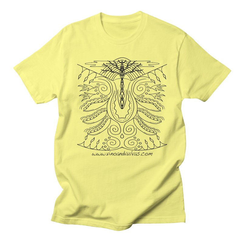 Eden Men's T-Shirt by Vino & Vulvas Artist Shop