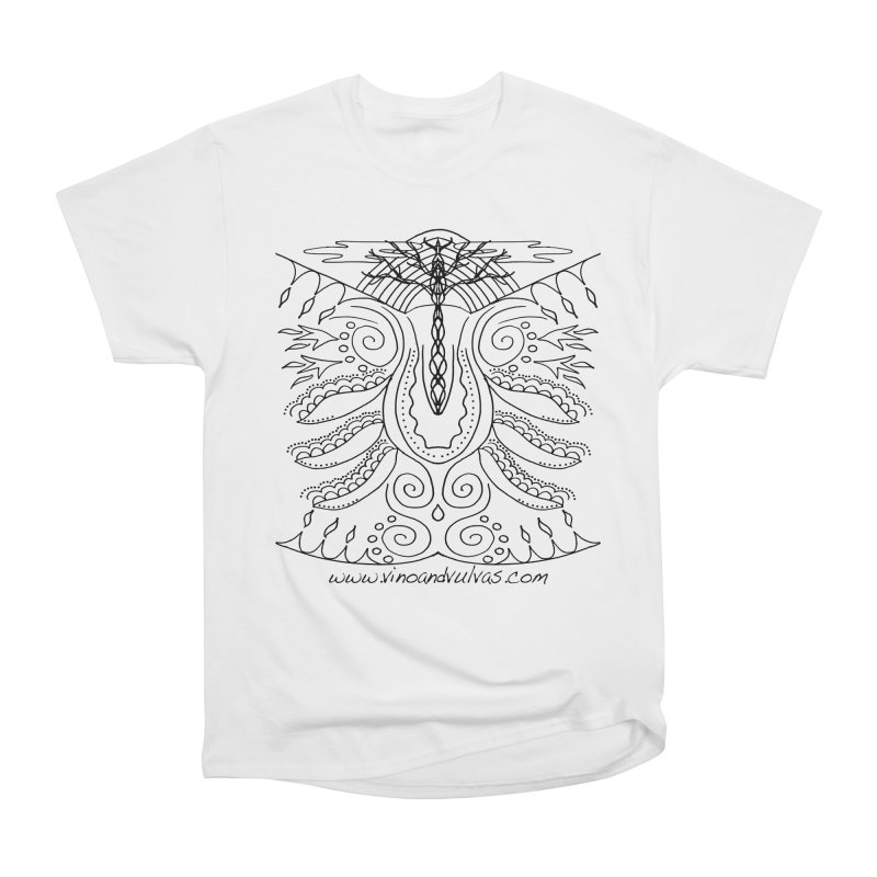 Eden Women's Heavyweight Unisex T-Shirt by Vino & Vulvas Artist Shop