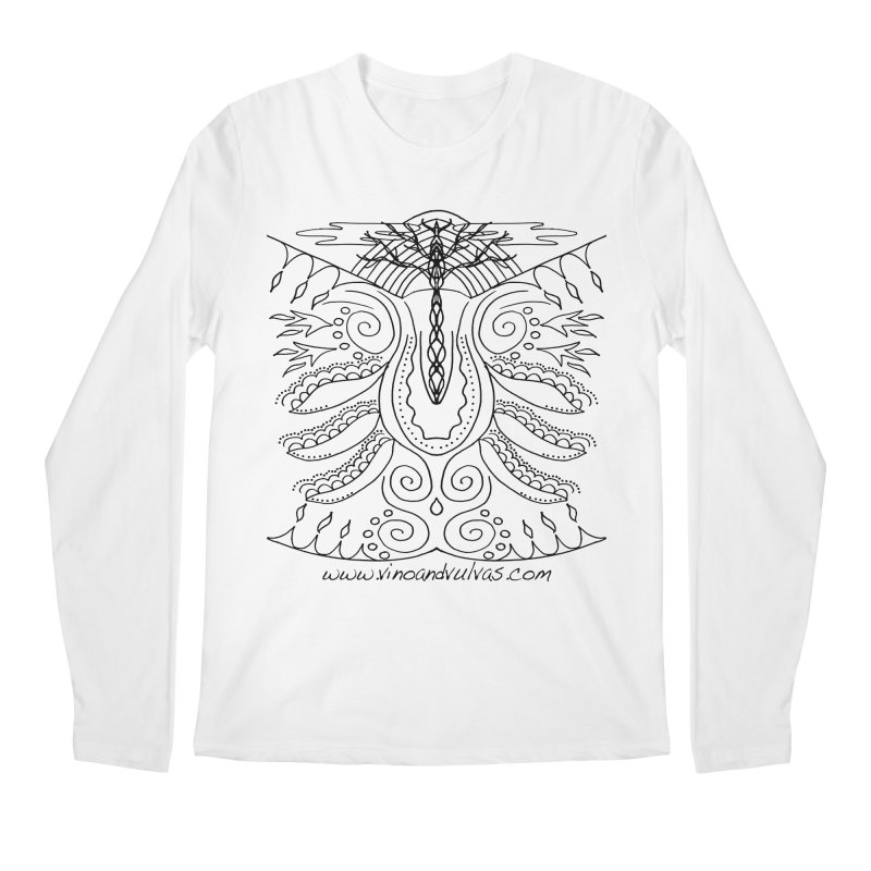 Eden Men's Regular Longsleeve T-Shirt by Vino & Vulvas Artist Shop