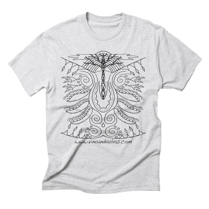Eden Men's Triblend T-Shirt by Vino & Vulvas Artist Shop