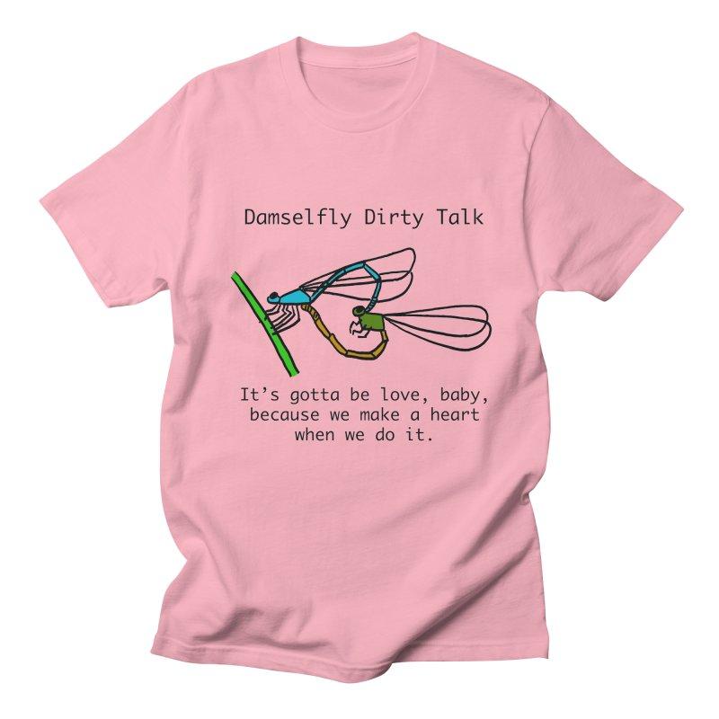 Damselfly Dirty Talk Women's Regular Unisex T-Shirt by Vino & Vulvas Artist Shop