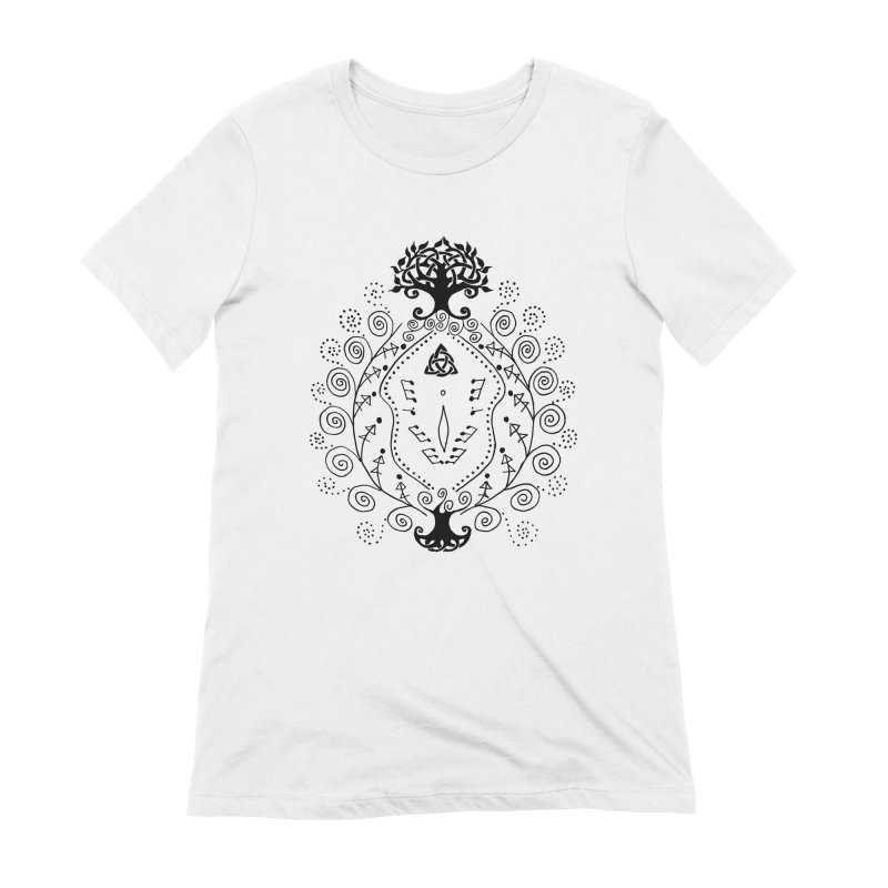 Celtic Clit Women's Extra Soft T-Shirt by Vino & Vulvas Artist Shop