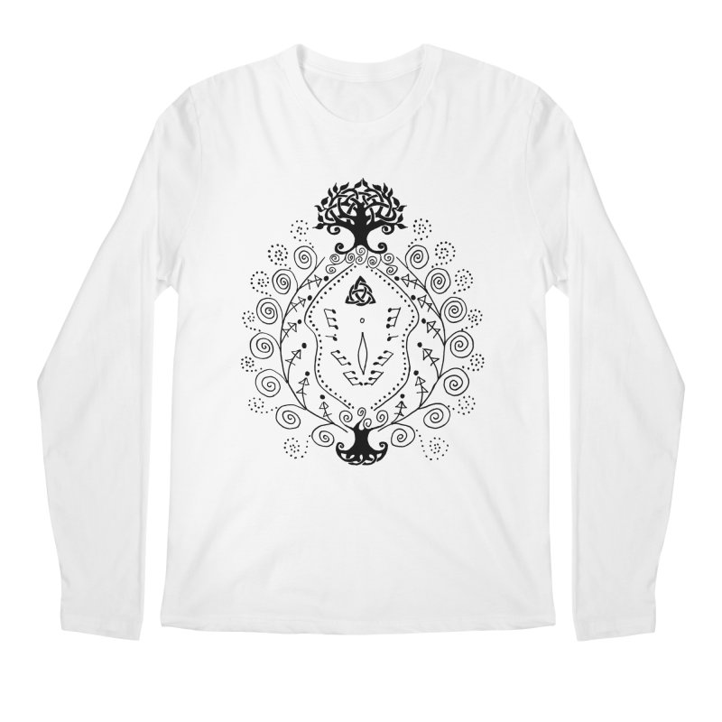 Celtic Clit Men's Longsleeve T-Shirt by Vino & Vulvas Artist Shop
