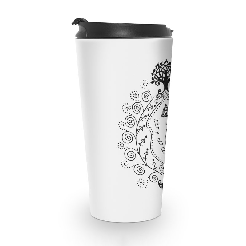 Celtic Clit Accessories Travel Mug by Vino & Vulvas Artist Shop