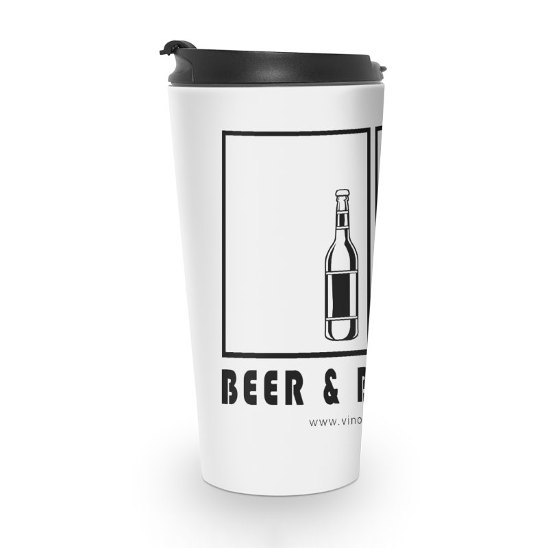 Beer & Buttholes Accessories Travel Mug by Vino & Vulvas Artist Shop