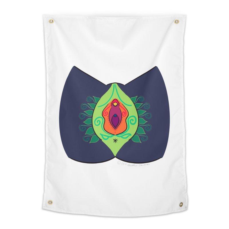 Avulvacado Home Tapestry by Vino & Vulvas Artist Shop