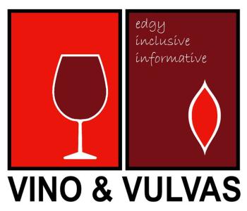 Vino & Vulvas Artist Shop Logo