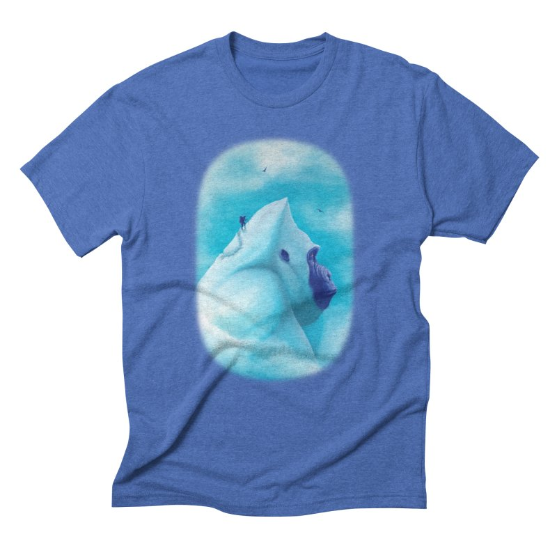 over the rainbow Men's Triblend T-shirt by vinssevintz's Artist Shop