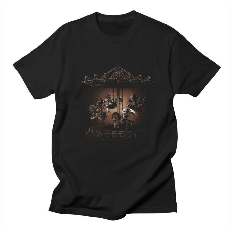 apocalypse crousel Men's T-shirt by vinssevintz's Artist Shop