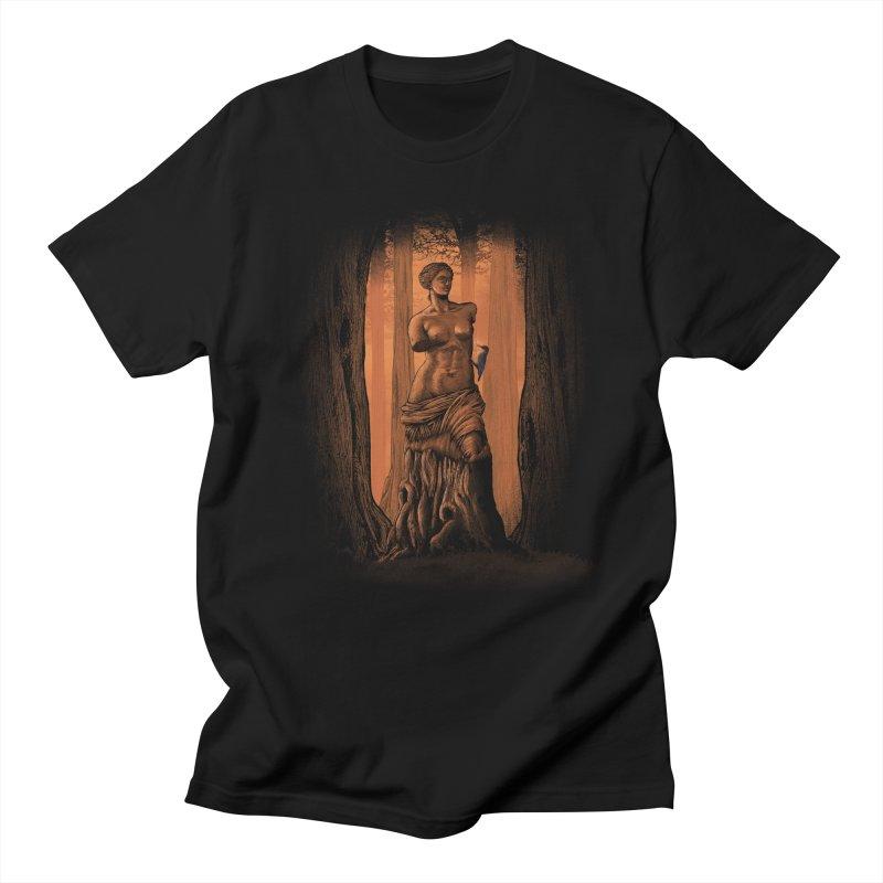 crazy woodpecker Men's T-shirt by vinssevintz's Artist Shop