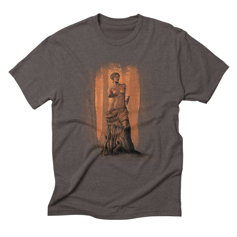 crazy woodpecker Men's Triblend T-shirt by vinssevintz's Artist Shop