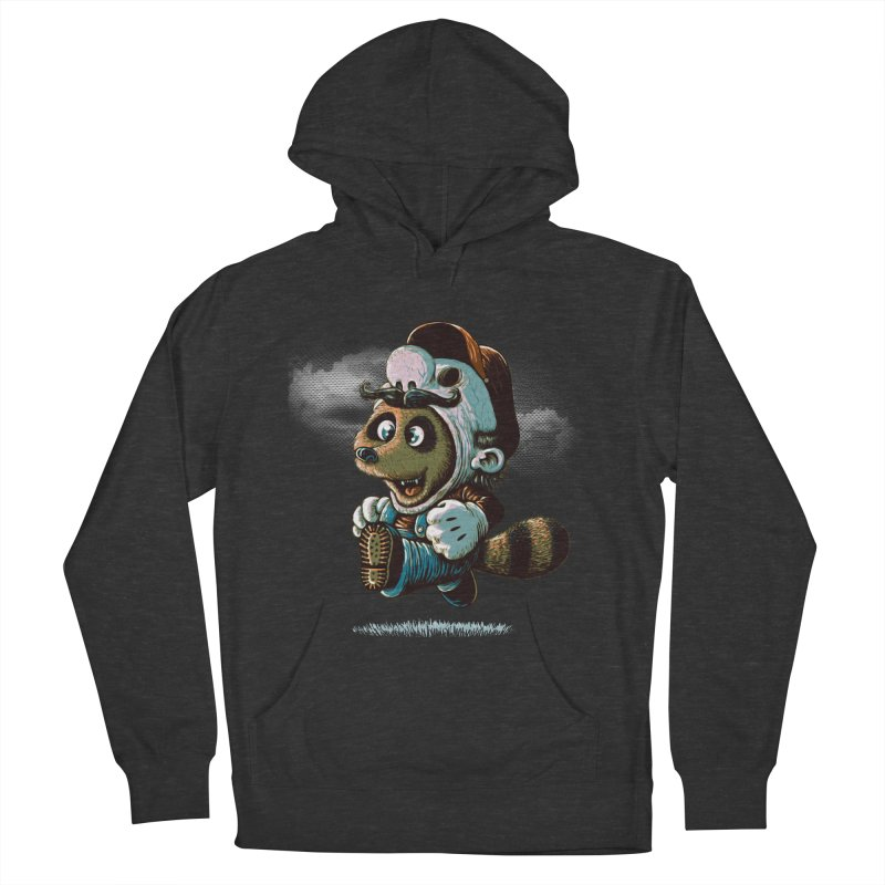 tanooki revenge Men's Pullover Hoody by vinssevintz's Artist Shop