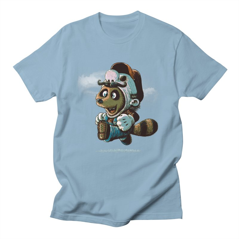 tanooki revenge Men's T-Shirt by vinssevintz's Artist Shop