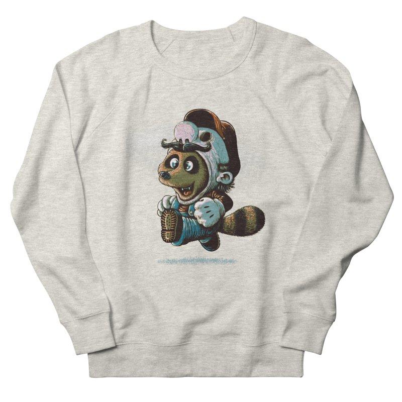 tanooki revenge Men's Sweatshirt by vinssevintz's Artist Shop