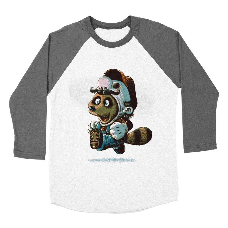 tanooki revenge Men's Baseball Triblend T-Shirt by vinssevintz's Artist Shop