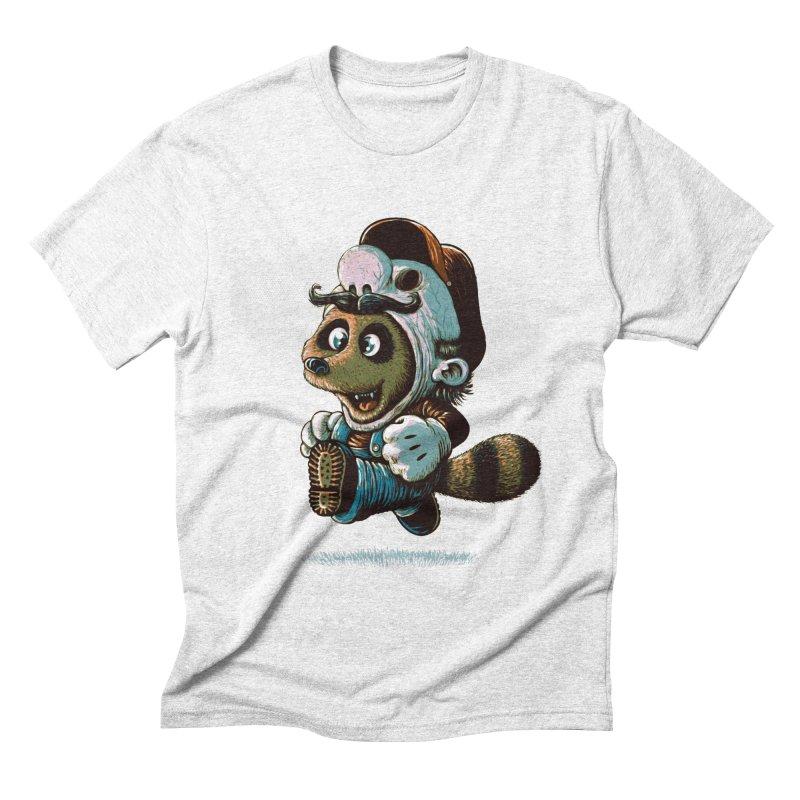 tanooki revenge Men's Triblend T-shirt by vinssevintz's Artist Shop