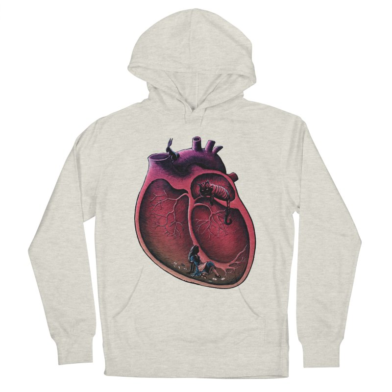 Alice in my heart Men's Pullover Hoody by vinssevintz's Artist Shop