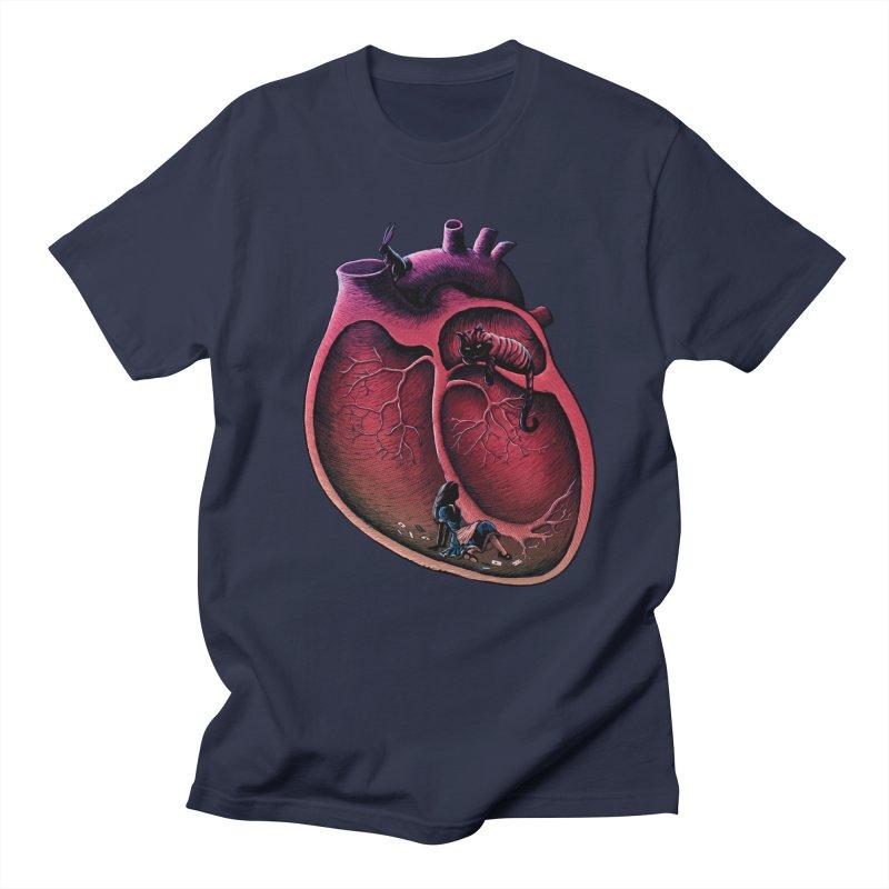 Alice in my heart Men's T-shirt by vinssevintz's Artist Shop
