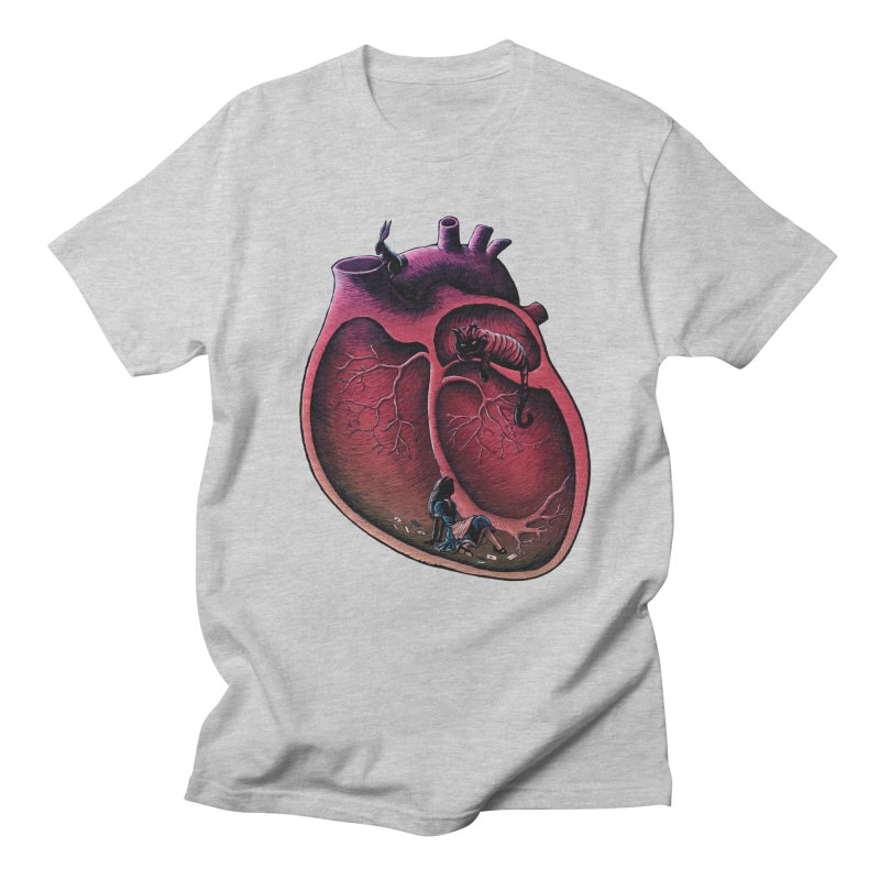 Alice in my heart Men's T-shirt by vinssevintz's Artist Shop
