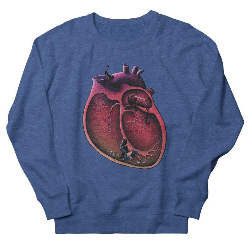 Alice in my heart Men's Sweatshirt by vinssevintz's Artist Shop