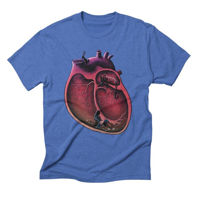 Alice in my heart Men's Triblend T-Shirt by vinssevintz's Artist Shop