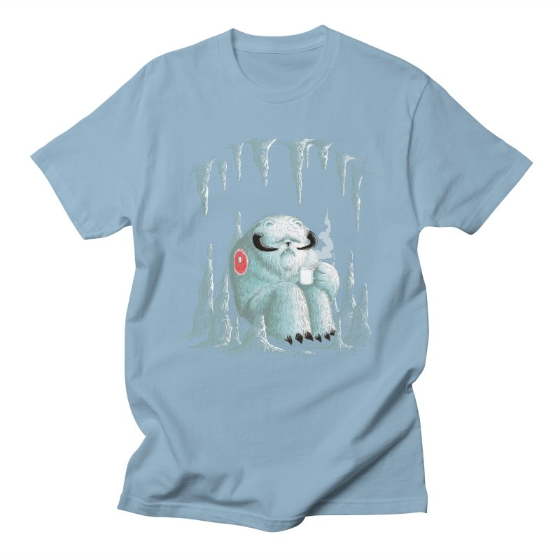 somewhere on the ice planet v2 Men's T-shirt by vinssevintz's Artist Shop
