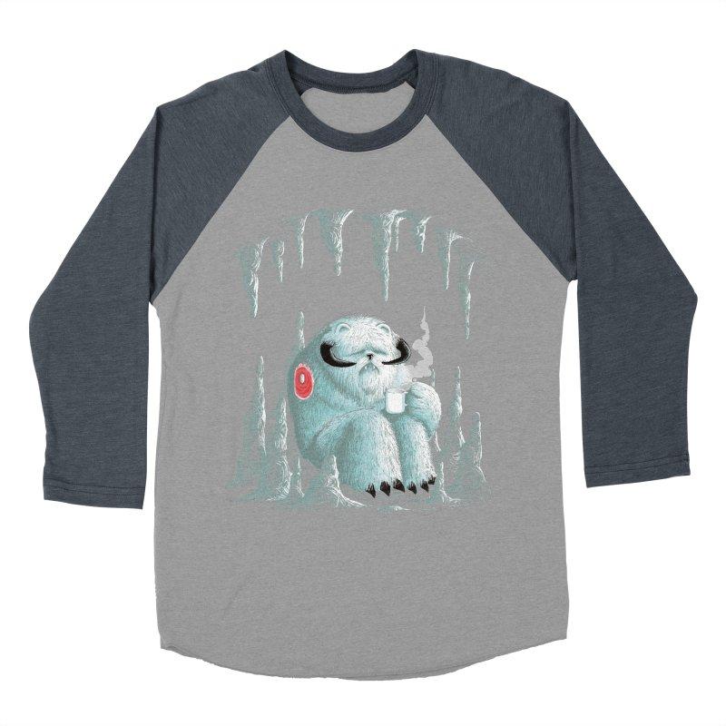 somewhere on the ice planet v2 Men's Baseball Triblend T-Shirt by vinssevintz's Artist Shop