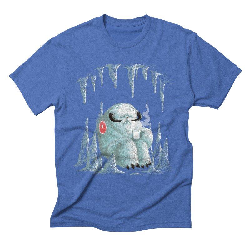 somewhere on the ice planet v2 Men's Triblend T-shirt by vinssevintz's Artist Shop