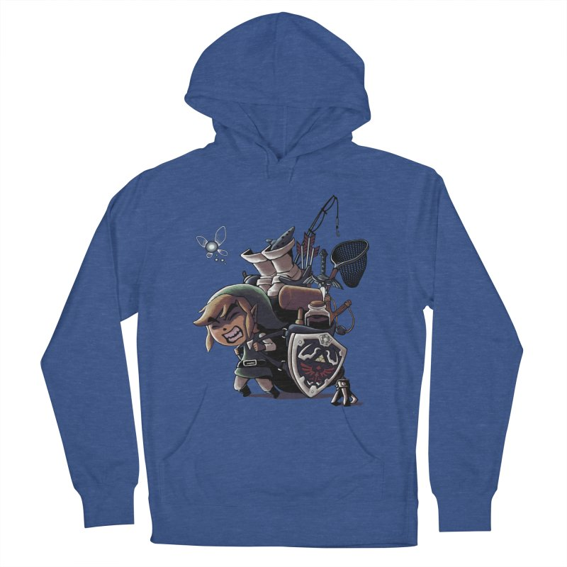 hard adventure Men's Pullover Hoody by vinssevintz's Artist Shop