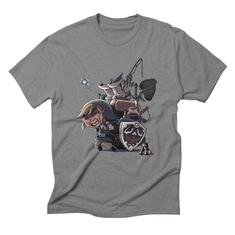 hard adventure Men's Triblend T-Shirt by vinssevintz's Artist Shop