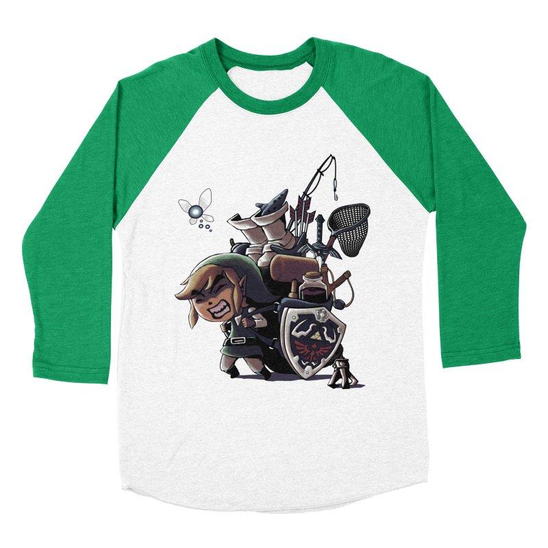 hard adventure Men's Baseball Triblend T-Shirt by vinssevintz's Artist Shop