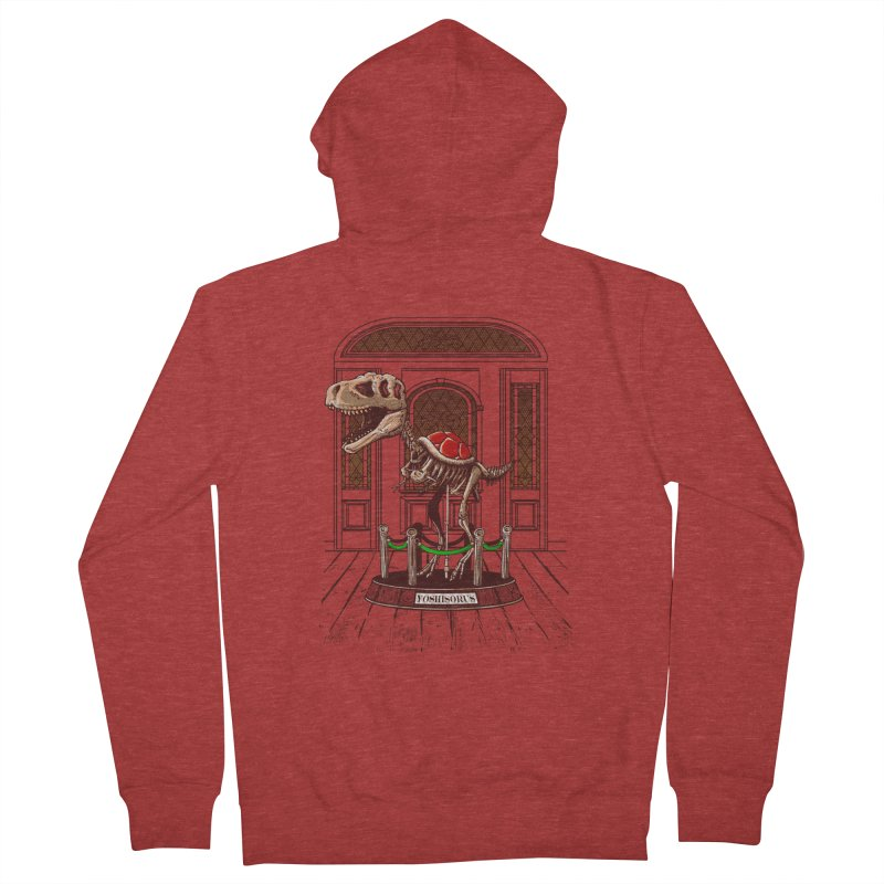Museum of geek history Men's Zip-Up Hoody by vinssevintz's Artist Shop
