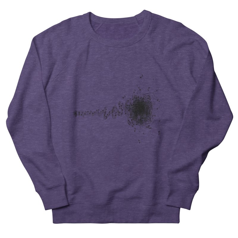 crazy musik Men's Sweatshirt by vinssevintz's Artist Shop