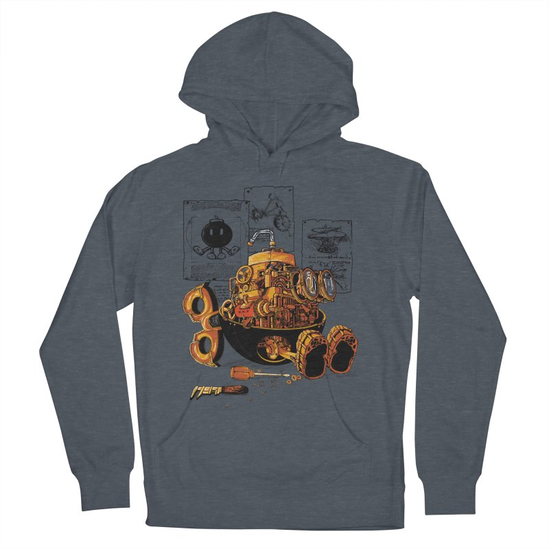 work of the genius Men's Pullover Hoody by vinssevintz's Artist Shop