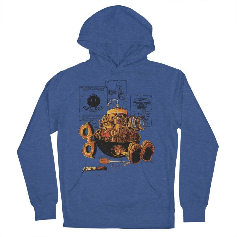 work of the genius Men's Pullover Hoody by vinssevintz's Artist Shop
