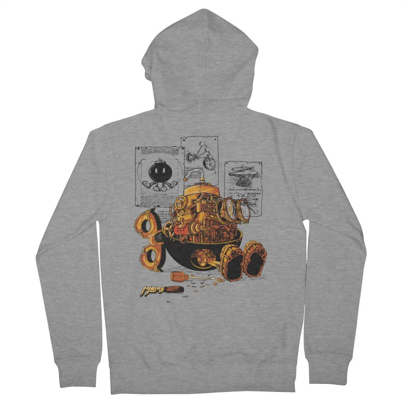 work of the genius Men's Zip-Up Hoody by vinssevintz's Artist Shop