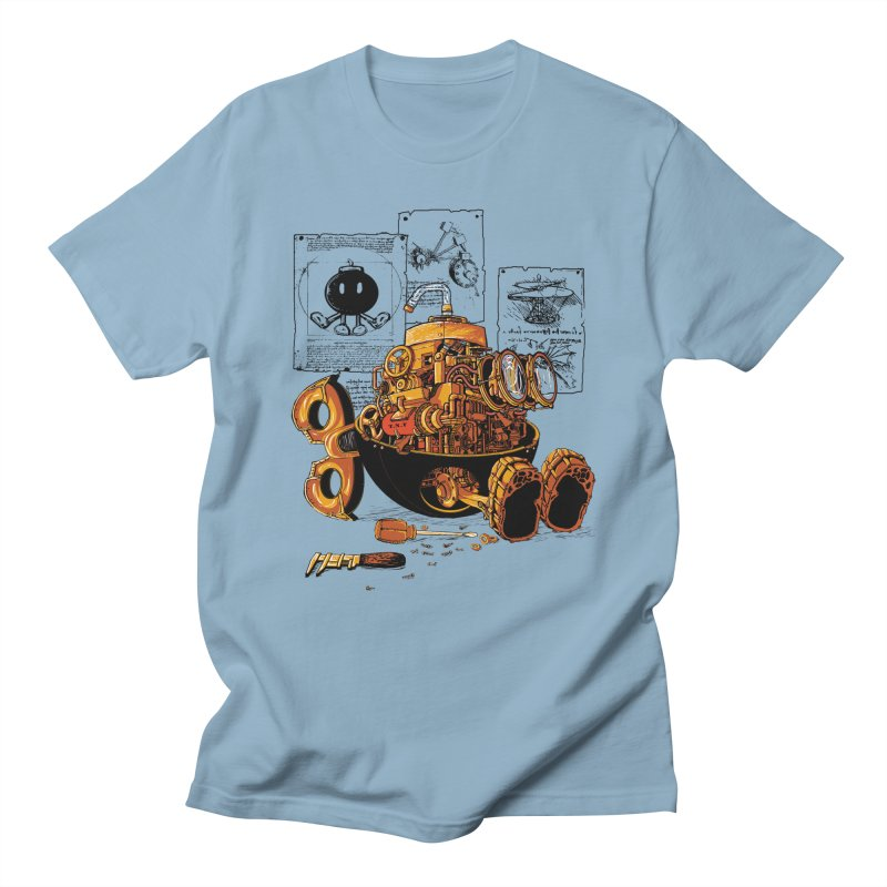 work of the genius Men's T-shirt by vinssevintz's Artist Shop