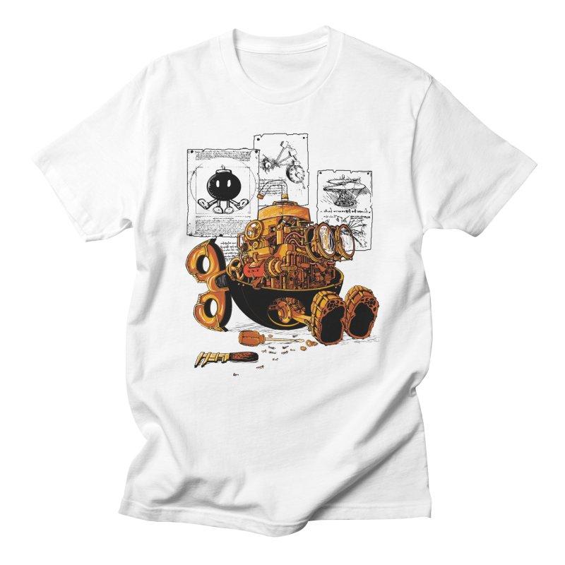work of the genius Men's T-shirt by vinssevintz's Artist Shop