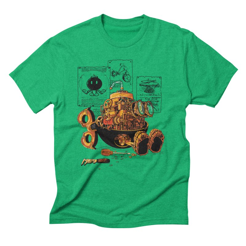 work of the genius Men's Triblend T-shirt by vinssevintz's Artist Shop