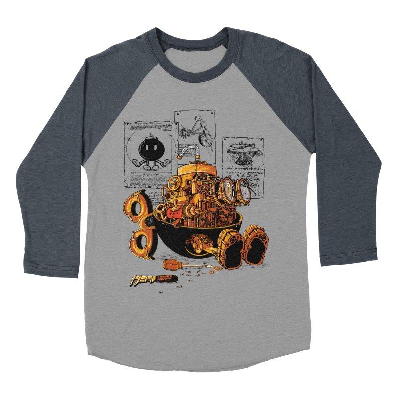 work of the genius Men's Baseball Triblend T-Shirt by vinssevintz's Artist Shop