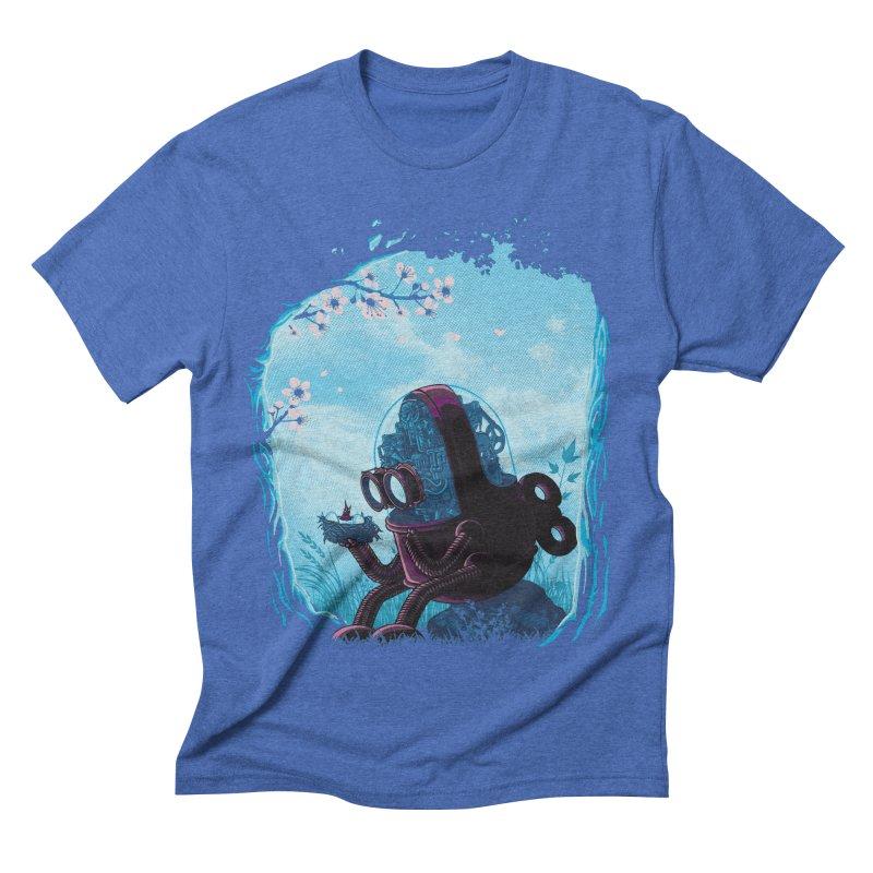 existencial crisis Men's Triblend T-shirt by vinssevintz's Artist Shop