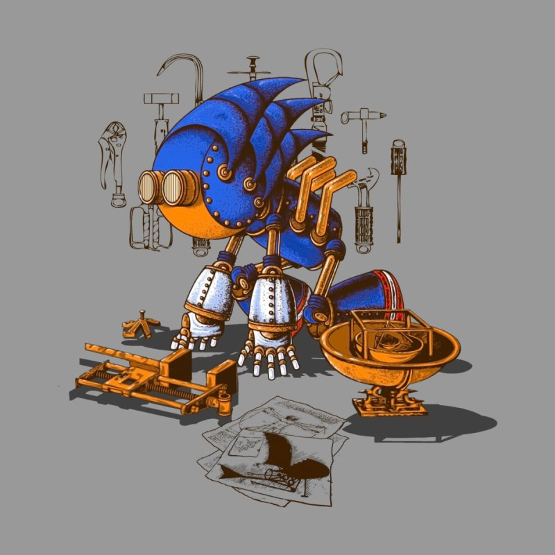da vinci hedgehog by vinssevintz's Artist Shop