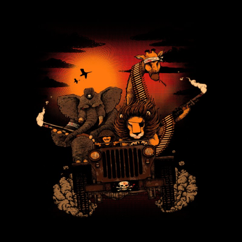 Safari revenge by vinssevintz's Artist Shop