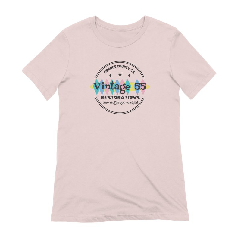 Original Circle Logo Women's T-Shirt by Vintage 55 Restorations