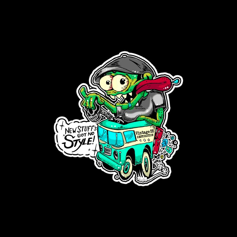 Weirdo Accessories Sticker by Vintage 55 Restorations