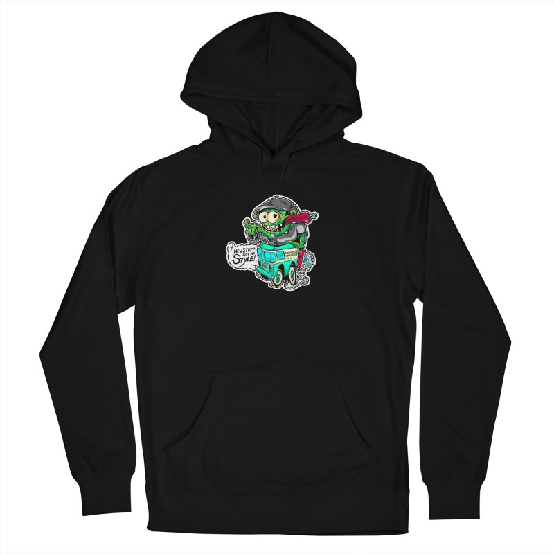 Weirdo Women's Pullover Hoody by Vintage 55 Restorations