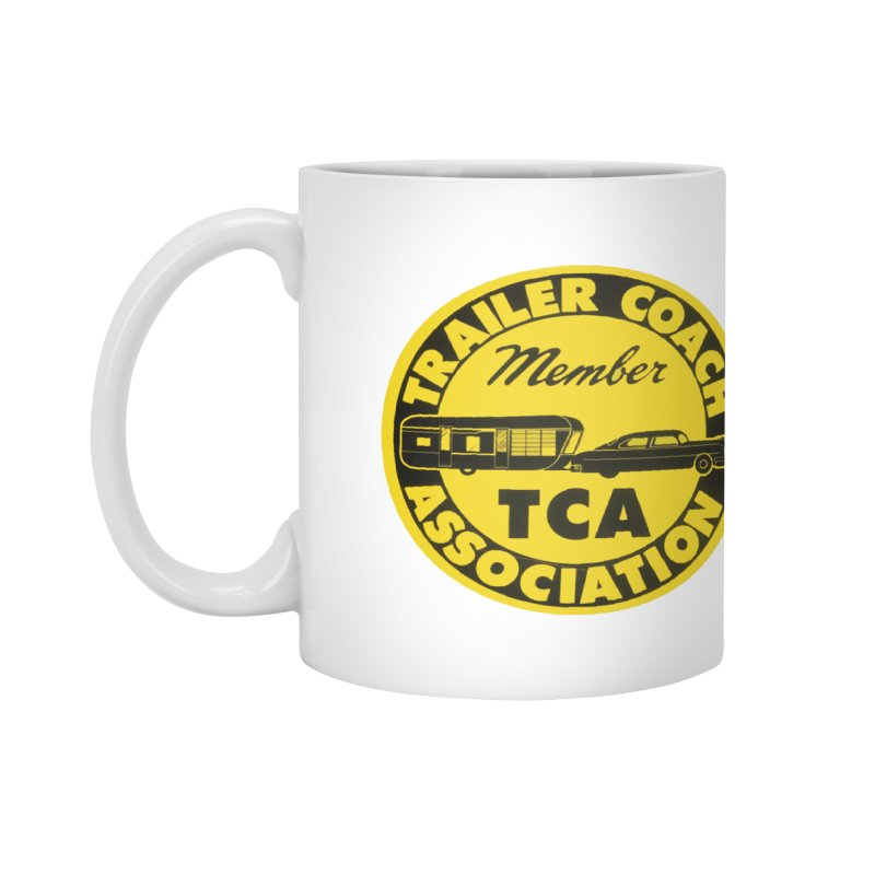 Vintage Trailer Coach Association Accessories Mug by Vintage 55 Restorations