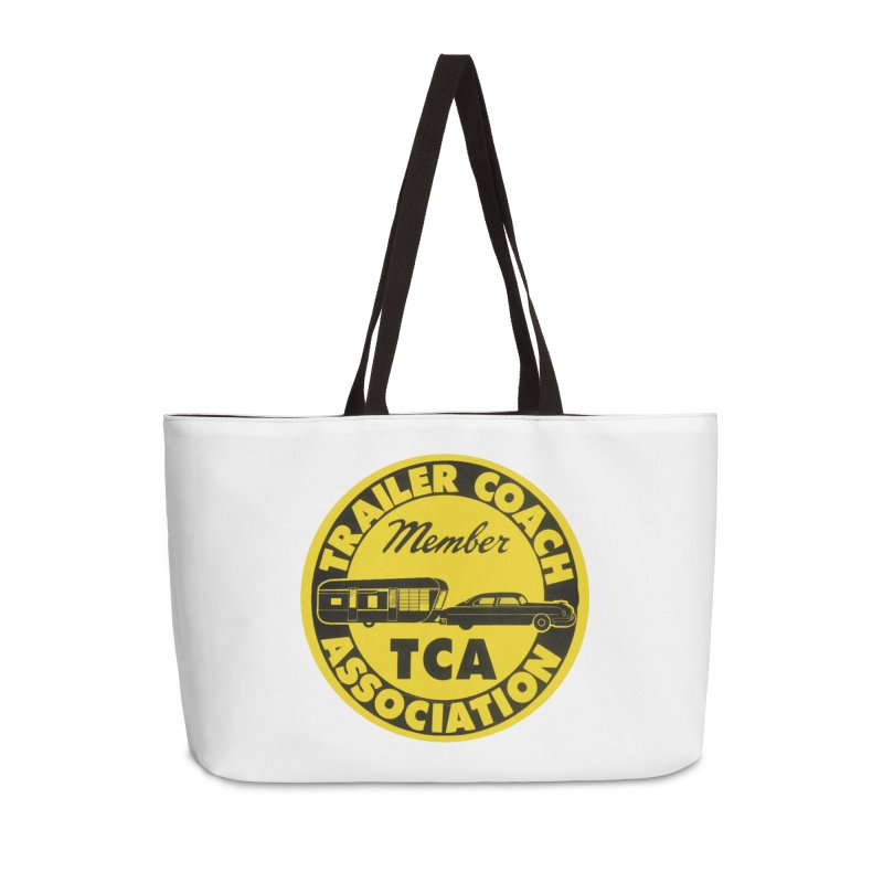 Vintage Trailer Coach Association Accessories Bag by Vintage 55 Restorations