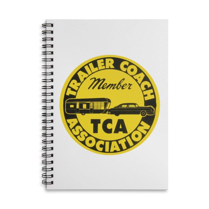 Vintage Trailer Coach Association Accessories Notebook by Vintage 55 Restorations