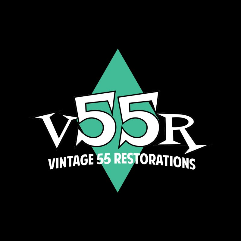 Vintage 55 Restorations Diamond Logo Women's V-Neck by Vintage 55 Restorations